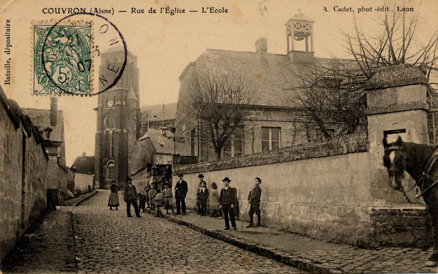 Rue de l'Eglise 1907