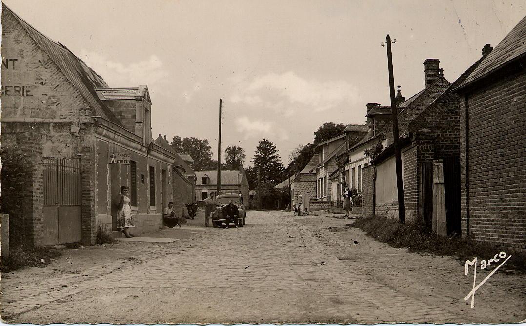 Rue du Château 1957