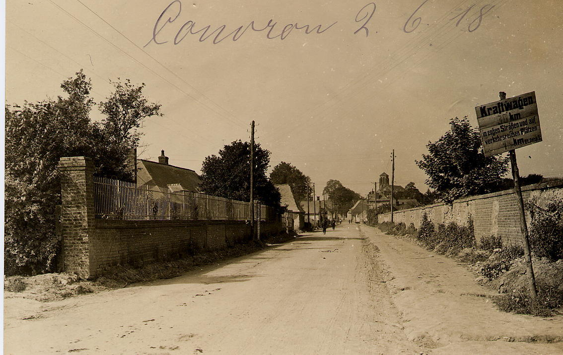 Rue de Monceau 2 juin 1918
