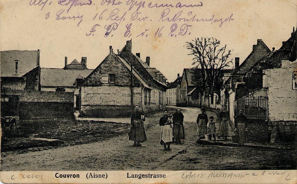 Allemande 1915 Carrefour Pouilly-Monceau
