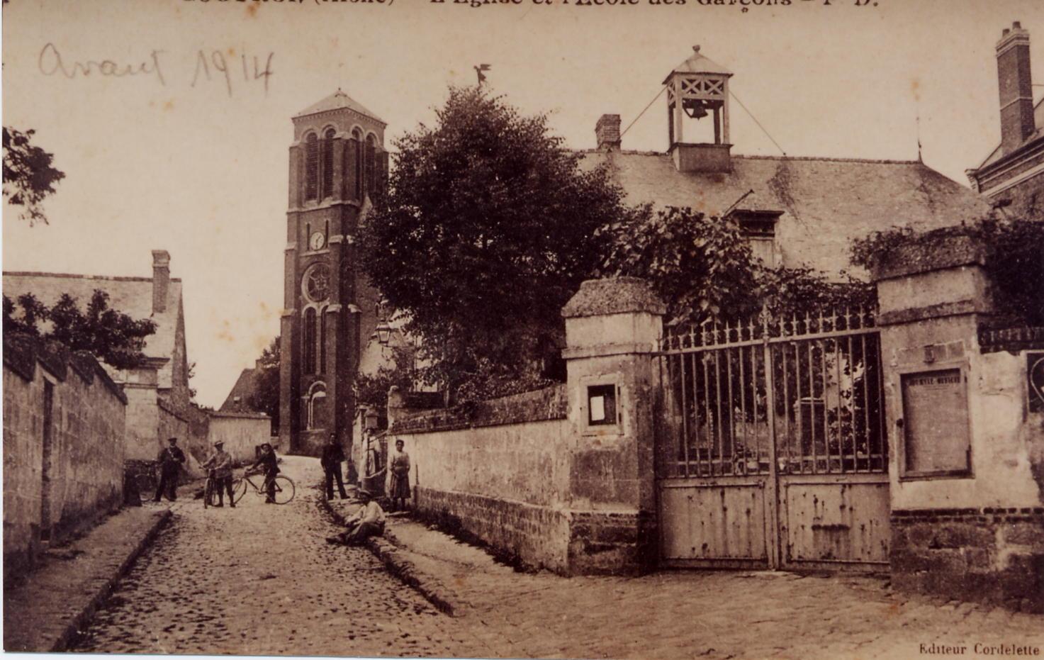 Rue de l'Eglise Avant 1914