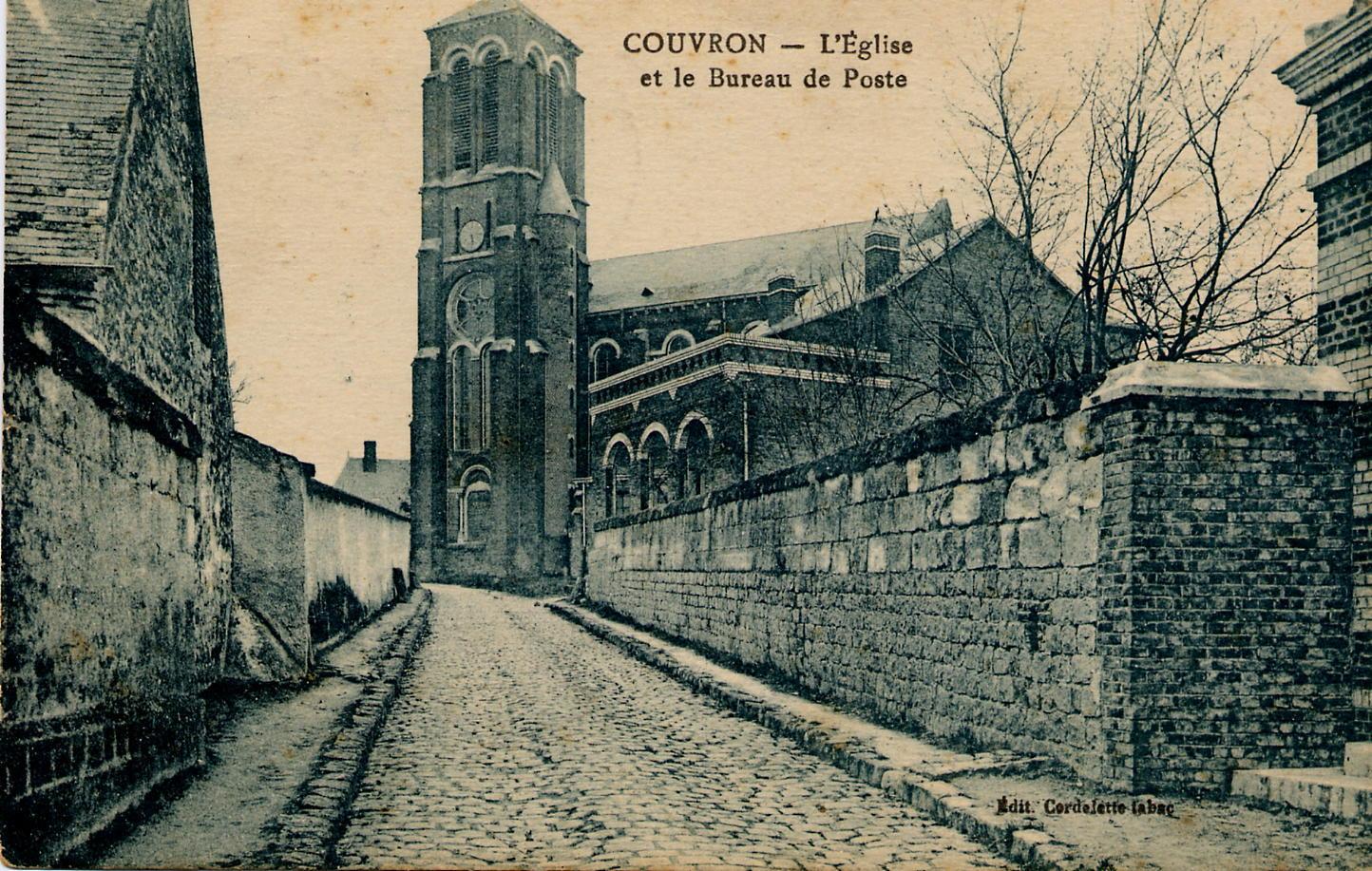 Rue de l'Eglise Avec mur sans école