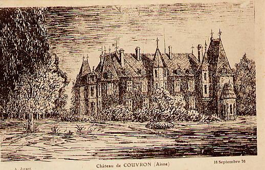Château dessin 16 sept 1876