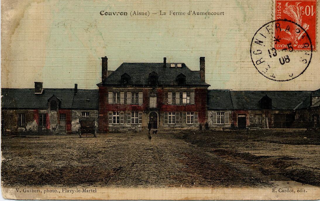 Ferme d'Aumencourt13 mai 1908