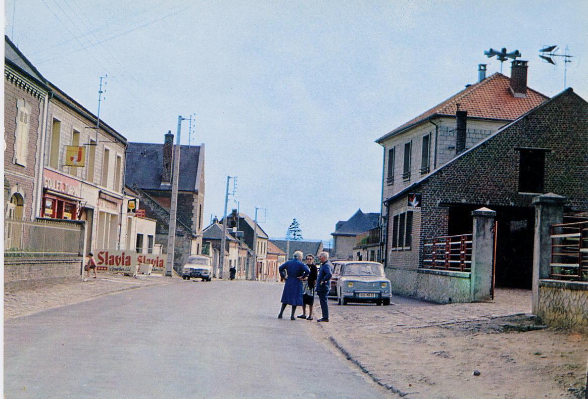 Rue du Colonel Chépy 1970.