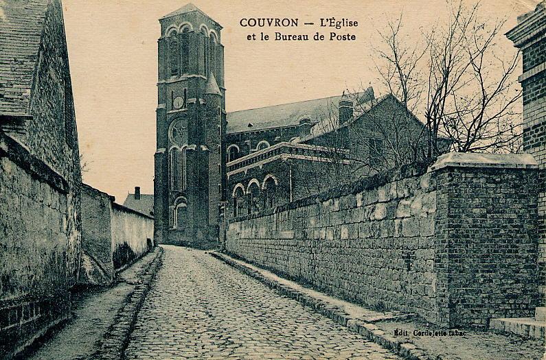 Eglise Vue Rue de l'Eglise