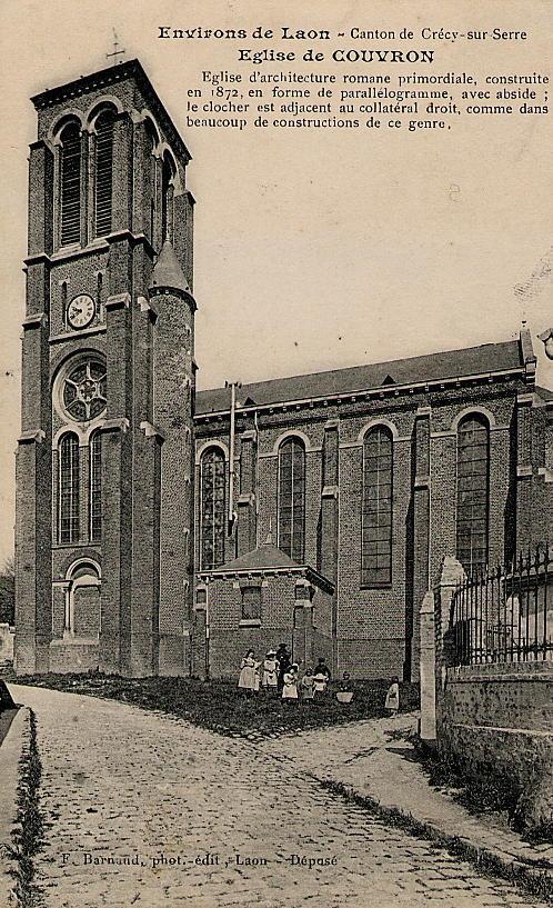 Eglise Vue Rue de l'Eglise2