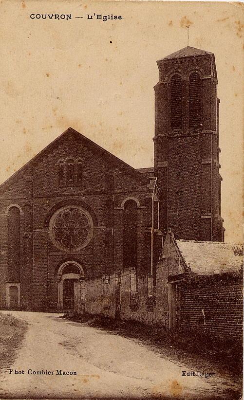 Eglise vue rue de la Verdure