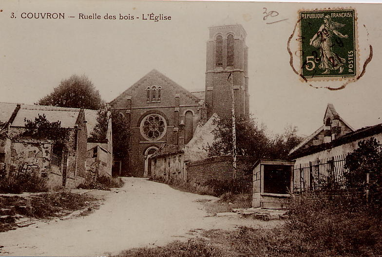 Eglise vue rue de la Verdure2