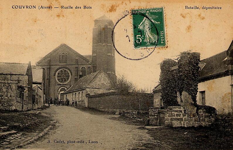 Eglise vue rue de la Verdure3