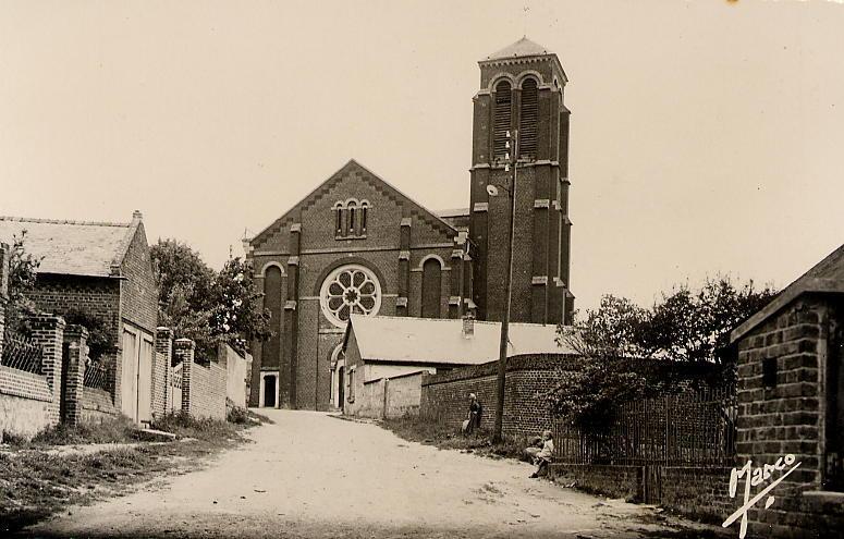 Eglise vue rue de la Verdure4