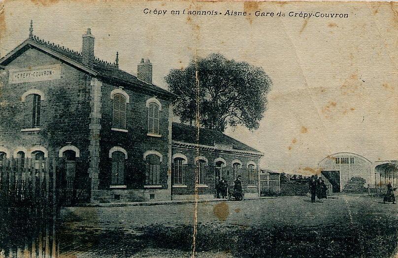 Gare nouvelle 1921