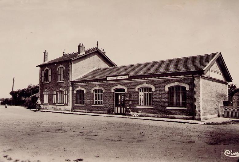 Gare nouvelle années 1950