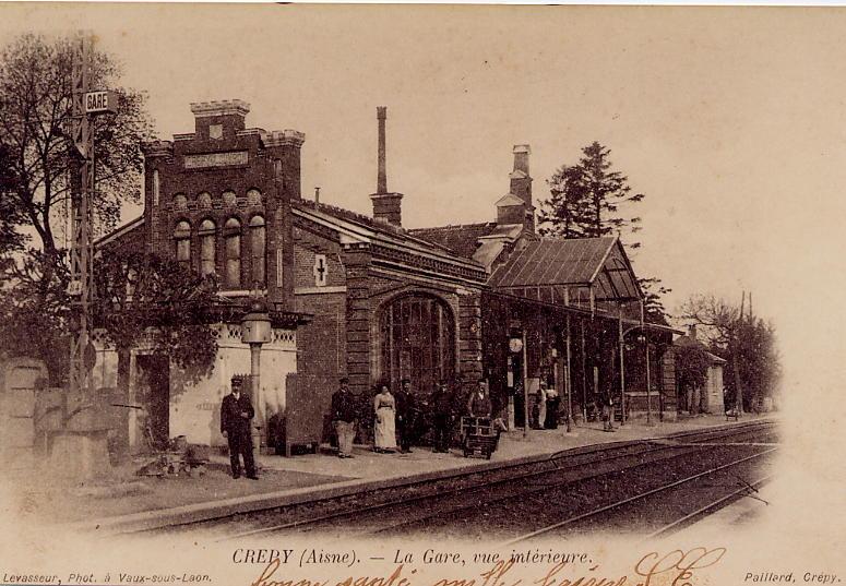 Gare rails