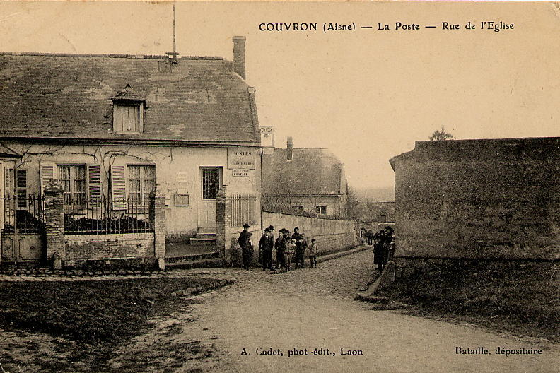 Poste ancienne