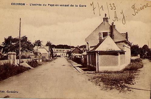 Rue de la Gare 7 janvier 1933