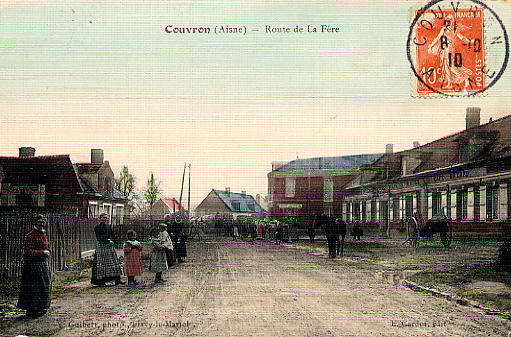 Rue du Colonel Chépy 8 oct 1910