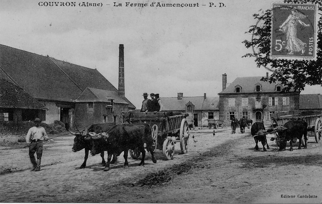 Ferme d'Aumencourt charriot