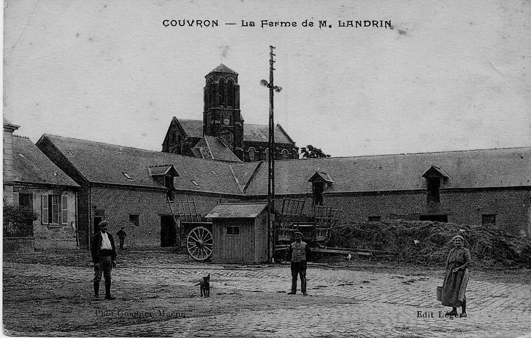 Cour de la Ferme d'Aumencourt