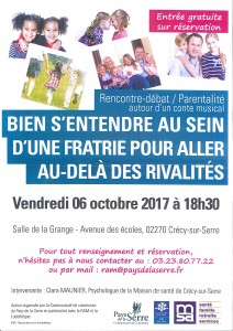 Rencontre-débat parentalité @ Salle de la Grange | Crécy-sur-Serre | Hauts-de-France | France