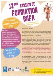 Session formation BAFA