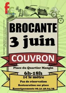 Brocante - Foyer Culturel @ Place du Quartier Mangin | Couvron-et-Aumencourt | Hauts-de-France | France