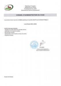 Conseil d'Administration du CCAS @ Mairie | Couvron-et-Aumencourt | Hauts-de-France | France