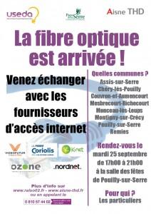 Réunion publique fibre optique @ Salle des fêtes | Pouilly-sur-Serre | Hauts-de-France | France