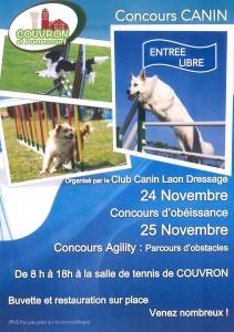 Concours canin @ Tennis couvert | Couvron-et-Aumencourt | Hauts-de-France | France