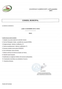 Conseil Municipal @ Mairie | Couvron-et-Aumencourt | Hauts-de-France | France
