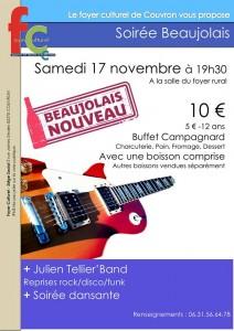 Soirée Beaujolais @ Foyer rural | Couvron-et-Aumencourt | Hauts-de-France | France