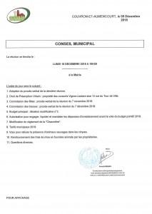 Conseil Municipal @ Mairie