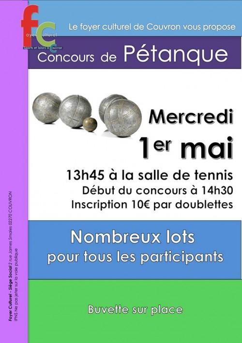 Concours de pétanque @ Tennis