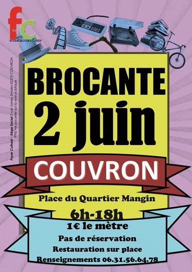 Brocante @ Place du Quartier Mangin