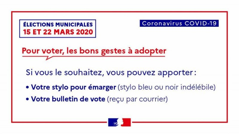 Elections municipales - 1er tour @ Mairie