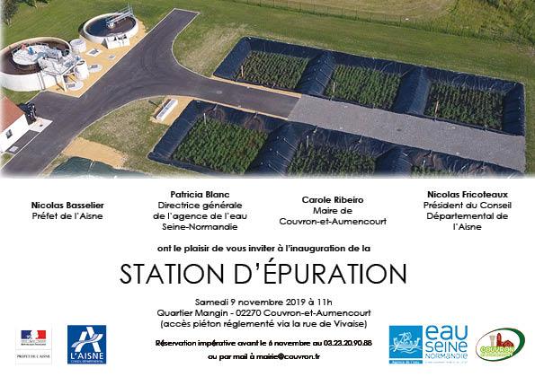Inauguration station d'épuration @ Quartier Mangin (accès piéton via la rue de Vivaise)