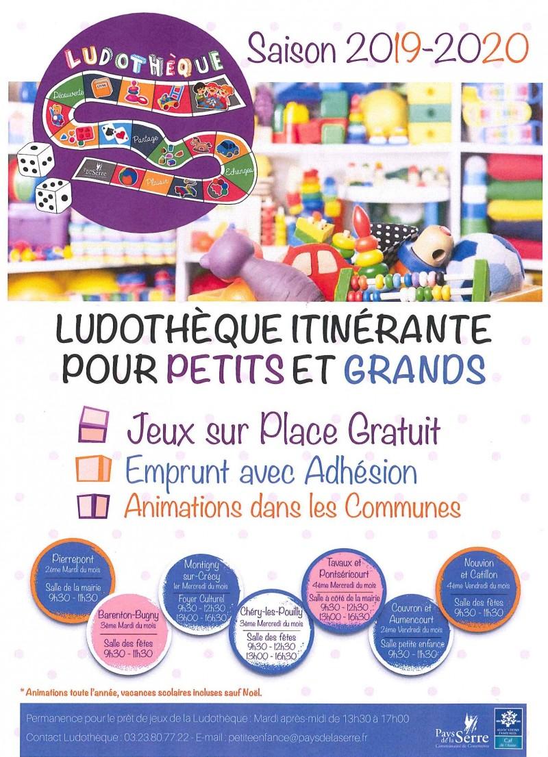 Ludothèque itinérante @ Espace Petite Enfance