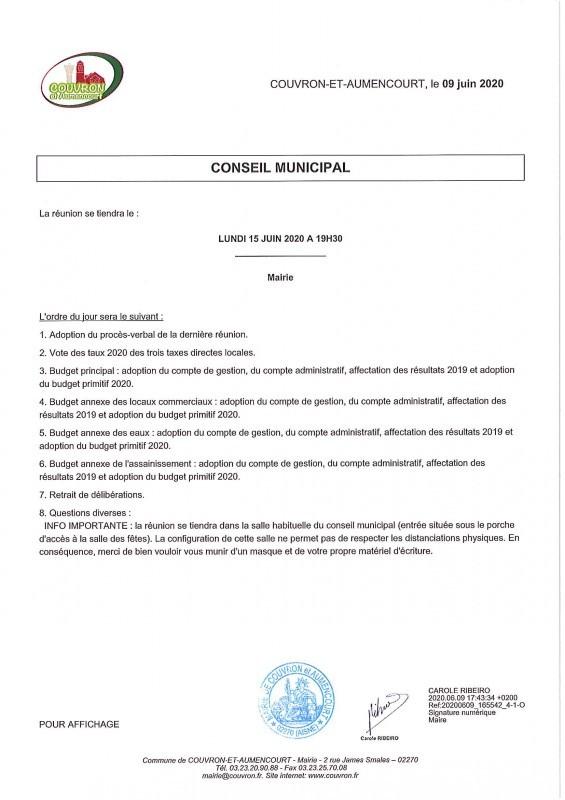 Conseil Municipal @ Mairie (entrée par le porche situé 19 rue du Colonel Chépy)
