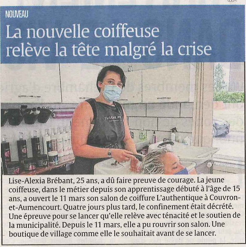 Article coiffeuse